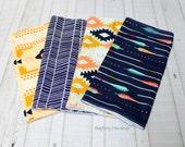 BagEnvy Handbags'  Burp Cloths - You Choose - Arrows - Herringbone - Aztec