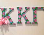 Kappa Kappa Gamma Sorority Letters Greek Letters big little gift