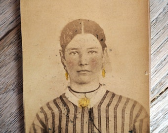 Antique Photograph Portrait of a Woman