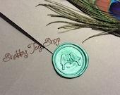 Love Birds wax seals / Weddings / Invitations / Envelopes / Scrap booking (set of 25)