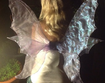 Beautiful Lilac Realistic Adult Fairy Wings