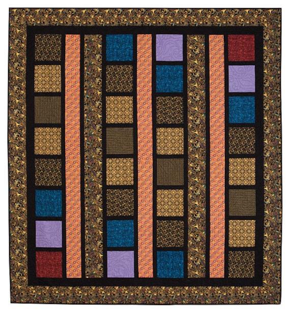 Line Art Quilt Kit : Line dance quilt kit queen size makes a x