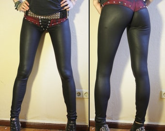 Kissin' Bombs studded fauxleather pants