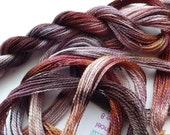 Ice Fall Hand Dyed Tencel Thread Size 8