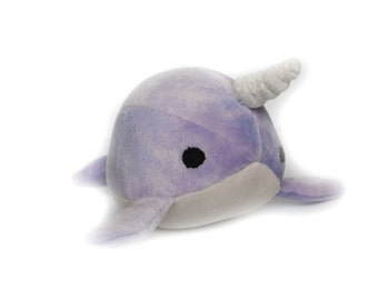 Stuffed Narwhal Plush Toy