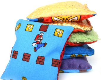 Super Mario Bean Bags - Set of 6