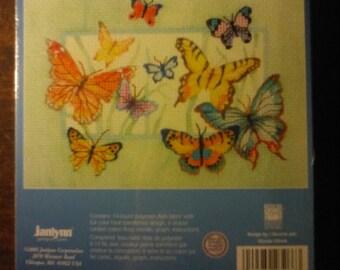 Butterfies Cross Stitch Kit