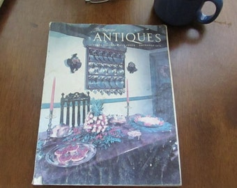 The Magazine Antiques - December 1979 Issue  - Original Copy – Vintage Collectible Magazine