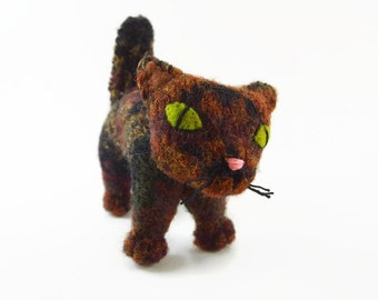 waldorf toy, stuffed animal,  waldorf toy cat, all natural toy, eco friendly toy, stuffed toy cat, stuffed toy, alley cat, stuffed toy