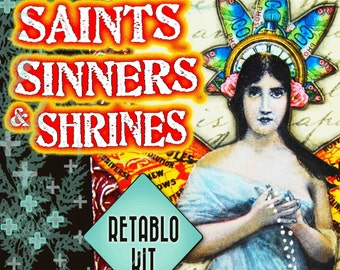 Retablo Workshop Kit - Saints, Sinners & Shrines - Alternatives to Honoring the Divine Within