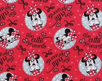 Cute Minnie Mouse too Cool for Words