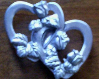 Two Hearts Become One Custom Closure Charm for Hourglass