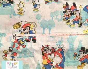 Vintage Mickey Mouse Curtain