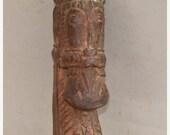 Valentines Lovers SALE Nepal Hard Carved Hardwood Horse Head Antique Statue