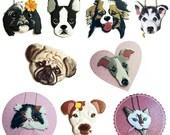 PET PORTRAIT NECKLACE, pet portrait necklace, animal jewelry, portrait jewelry, animal necklace, pet portrait, custom necklace