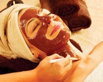 Chocolate and Bentonite Clay Facial Mask