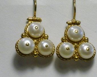 Vintage imitation Uzbeki style Earrings