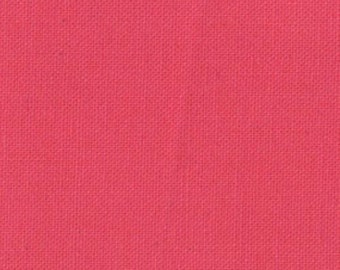 Prairie Fabric Bella by MODA Solid Strawberry Pink