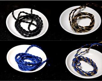 Custom Color Cord - Graduation Cap Cord - Tassel Cord - Supply - Hand Spun Cord - Choose Your School Colors