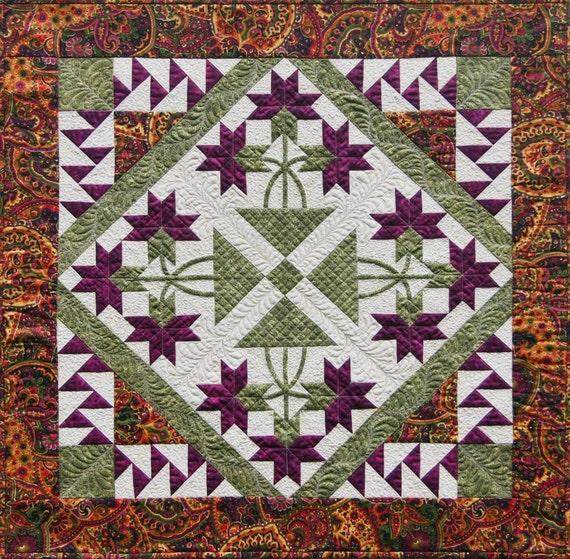 Quilt Patterns With Y Seams : Mini Carolina Lily Quilt Pattern NO Y Seams