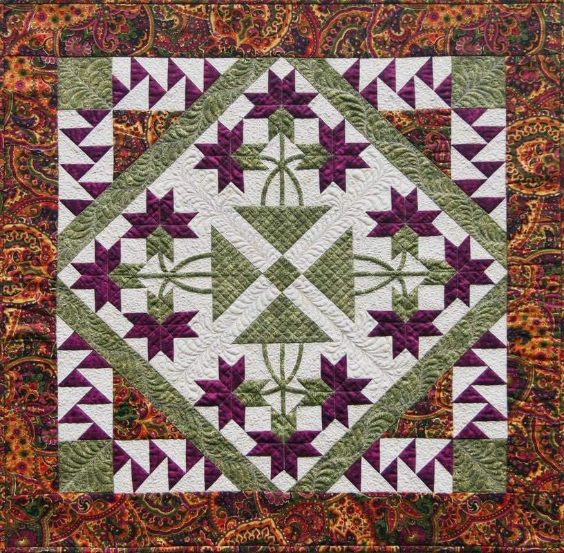 Quilt Patterns With Y Seams : Mini Carolina Lily Quilt Pattern NO Y Seams