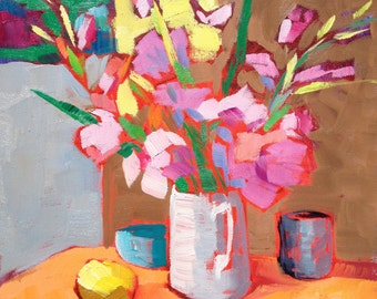 Composition study with Glads 12x12