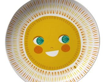 Sun  Melamine plate