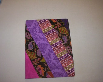 Hand made Quilted Composition Book Cover-4