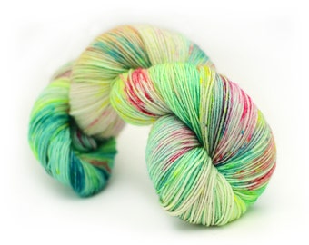 Hand dyed classic sock yarn - 100g
