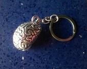 Brain Keychain,Brains,Keychain,Spooky,Doctors,Medical Jewelry,Halloween Jewelry,Smart