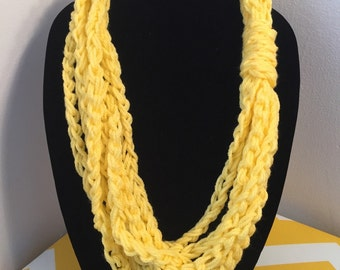 Inifinity Loop Scarf Necklace