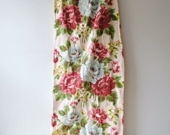 Vintage Barkcloth Curtains, Set of 2