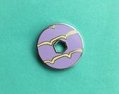 Party Ring Biscuit Enamel Pin / Pin Badge - Flair - Enamel Badge - Cookie Pin