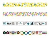 Limited Edition mt Japanese Washi Masking Tape Vol.5 -  15mm wide tapes at your choice for scrapbooking, packaging