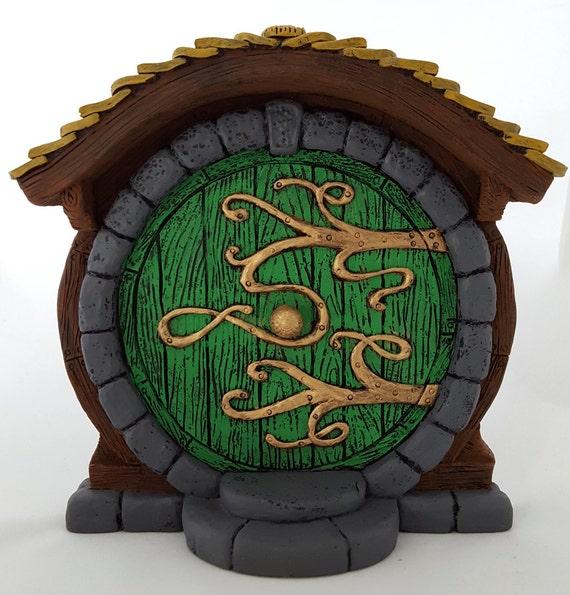 Porte de hobbit f e verte for Porte hobbit