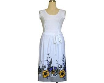 White Dress, Summer dress, Sundress, Plus size dress, Maxi dress, Plus size clothing, Made to order, Womens dress, Custom dress, Dress