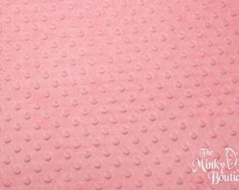 Minky Dot Fabric - Paris