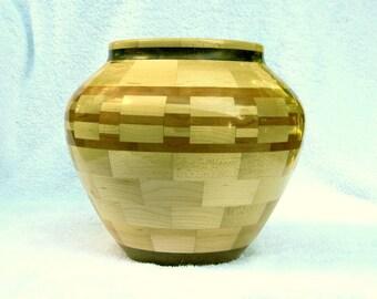 Segmented Wood Bowl # 220