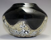 Ebony Ivory Urn Special Order for Melinda S. by Diann Adams