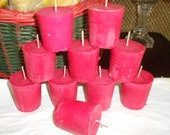 Special Order for Brittiny, 40 Red, Unscented Votive Candles