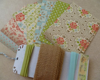 DIY Everyday Enchantment Stampin' Up! Papers and Ribbon Sampler Kit