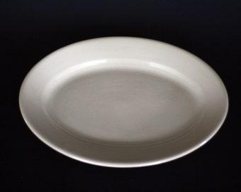 vintage restaurant china oval platter buffalo china cafe