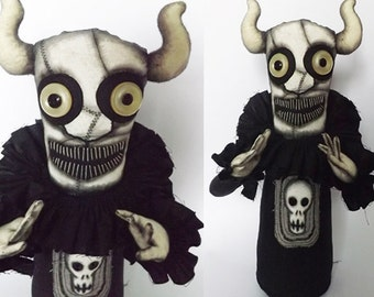 Ghoul Demon Horror Art Doll Gothic Horror Evil Doll