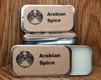 Arabian Spice Solid Perfume Balm