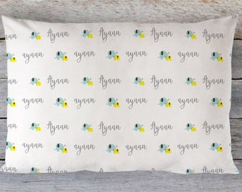Personalized Toddler Pillow - Personalized Pillow - Personalized Pillowcase - Personalized Toddler Pillow cover - Personalized Kids Pillow