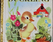 1949, The Fuzzy Duckling, A Little Golden Book, Fourth Edition, Hard Cover 13097