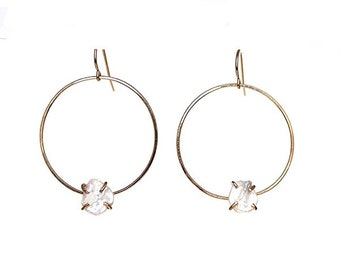 SALE! Geometric Circle Earrings