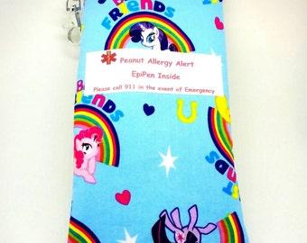 EpiPen Bag Insulin Pouch Child EpiPen Holder Allergy Alert Kids Water Resistant Meds Bag Travel Bag for EpiPen Allergy Alert Medical Alert