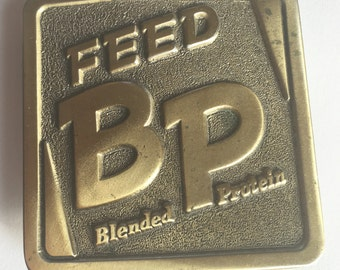 Hog Belt Buckle - BP Feeds