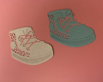 Tattered Lace Baby Boy Boot- Die Cut - Very Nice!